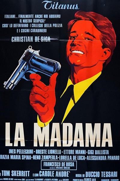 Caratula, cartel, poster o portada de La madama