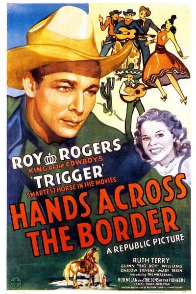 Caratula, cartel, poster o portada de Cita en la frontera