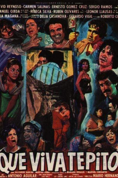 Caratula, cartel, poster o portada de ¡Que viva Tepito!