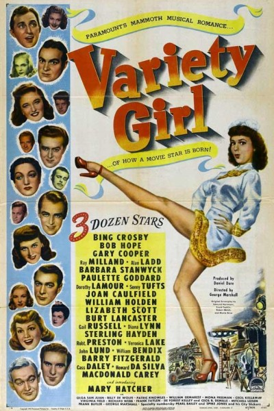 Caratula, cartel, poster o portada de Variety Girl