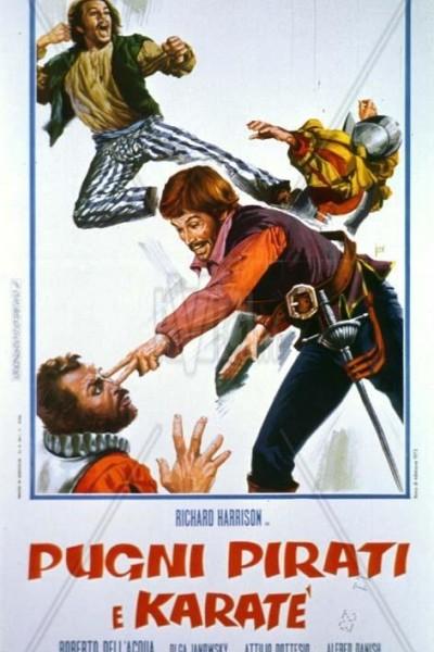 Caratula, cartel, poster o portada de Puños, piratas y karate