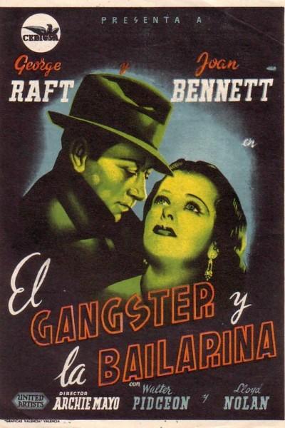 Caratula, cartel, poster o portada de El gangster y la bailarina