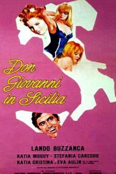 Caratula, cartel, poster o portada de Don Juan en Sicilia