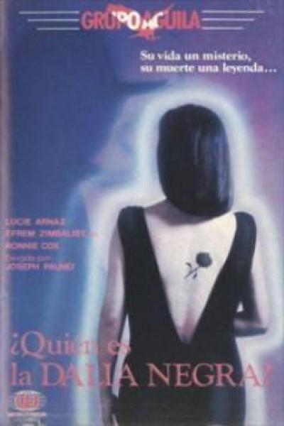 Caratula, cartel, poster o portada de ¿Quién es la Dalia Negra?