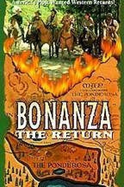 Caratula, cartel, poster o portada de Bonanza, el regreso