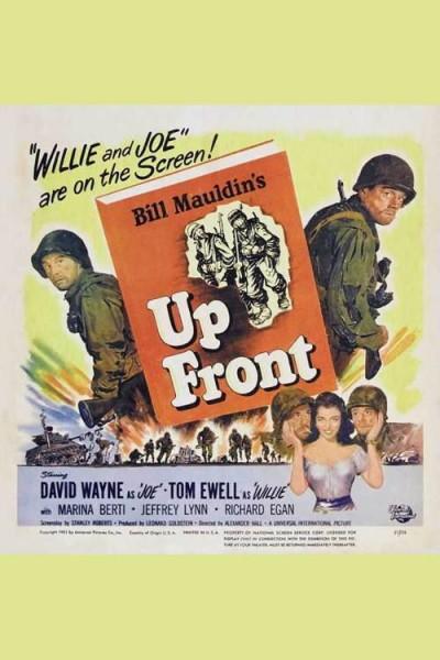 Caratula, cartel, poster o portada de Up Front
