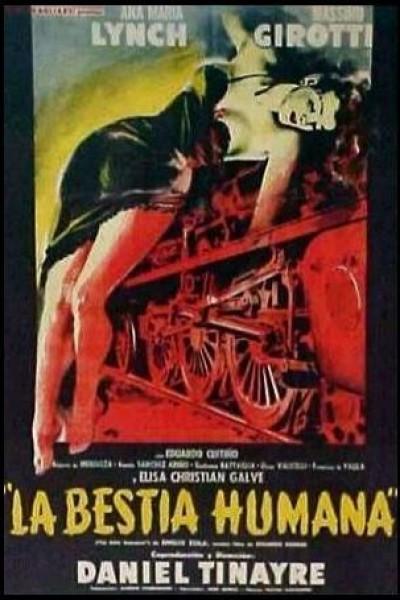 Caratula, cartel, poster o portada de La bestia humana (Los asesinos también mueren)