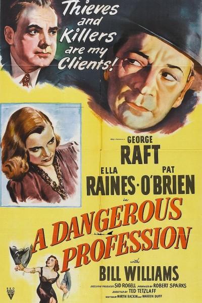 Caratula, cartel, poster o portada de Una profesión peligrosa
