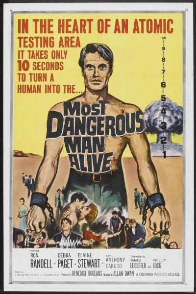 Caratula, cartel, poster o portada de Most Dangerous Man Alive