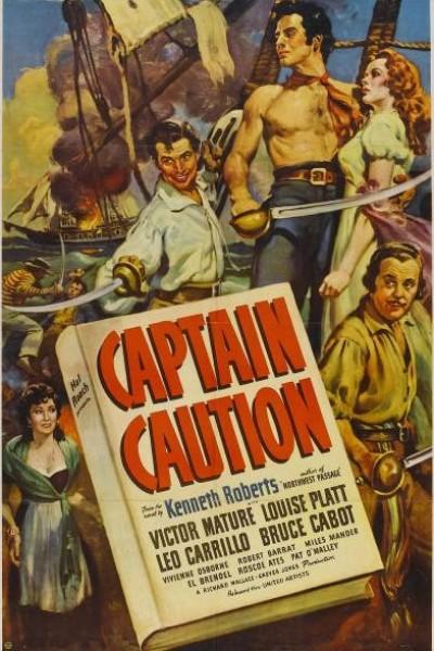 Caratula, cartel, poster o portada de El capitán cautela