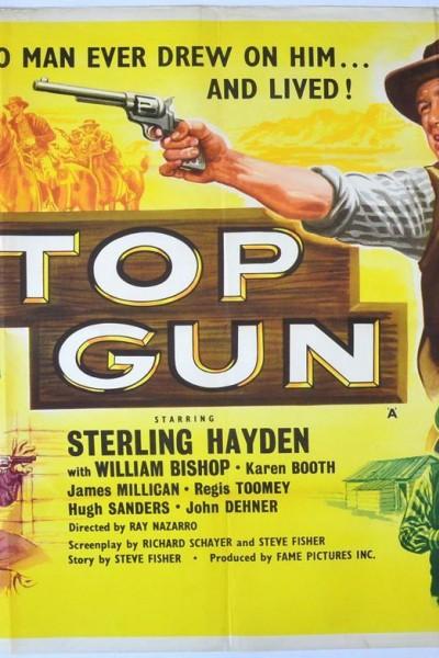 Caratula, cartel, poster o portada de Top Gun