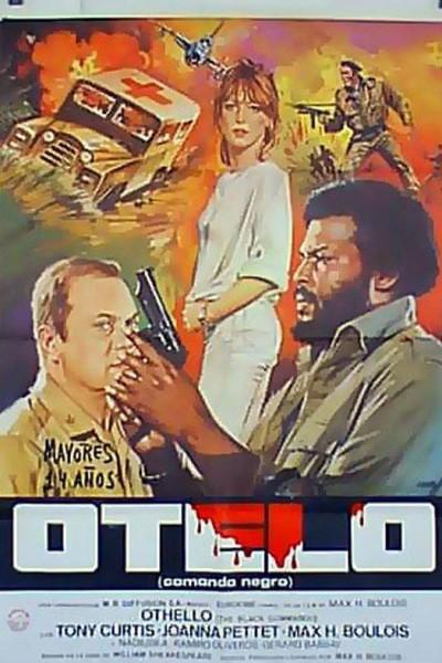 Caratula, cartel, poster o portada de Othello, el comando negro
