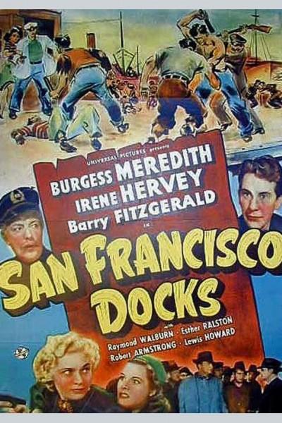 Caratula, cartel, poster o portada de San Francisco Docks