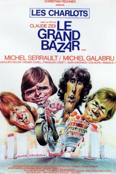 Caratula, cartel, poster o portada de Le grand bazar