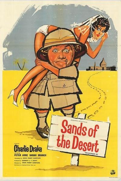 Caratula, cartel, poster o portada de Arenas del desierto