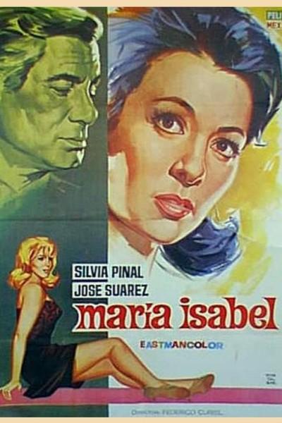 Caratula, cartel, poster o portada de El amor de María Isabel