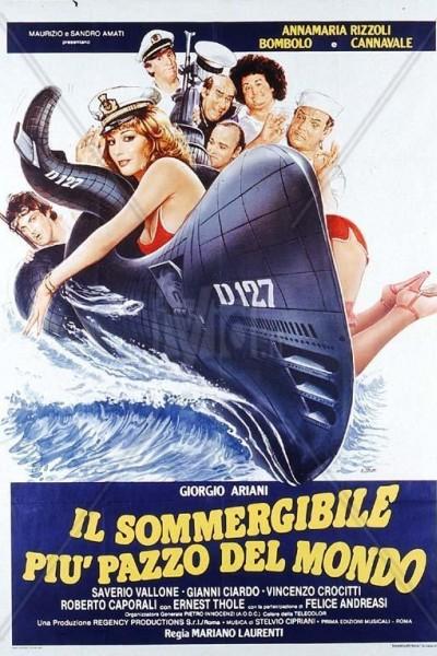 Caratula, cartel, poster o portada de El submarino más loco del mundo