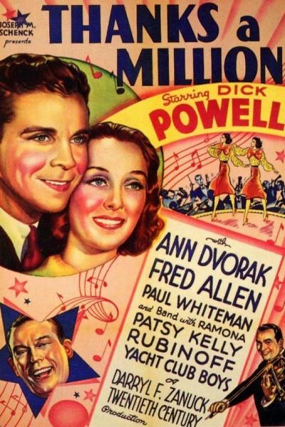 Caratula, cartel, poster o portada de Un millón de gracias