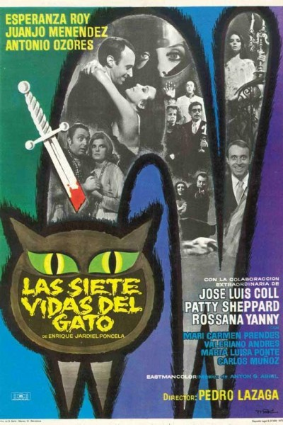 Caratula, cartel, poster o portada de Las siete vidas del gato