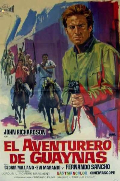 Caratula, cartel, poster o portada de El aventurero de Guaynas