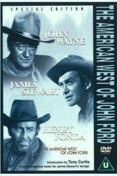 Caratula, cartel, poster o portada de El oeste americano de John Ford