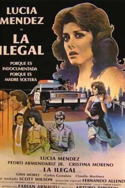 Caratula, cartel, poster o portada de La ilegal