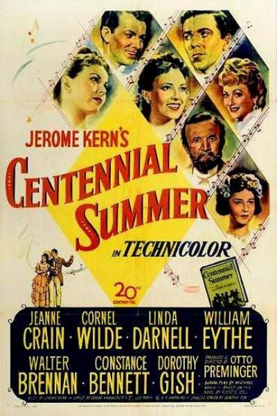 Caratula, cartel, poster o portada de Centennial Summer