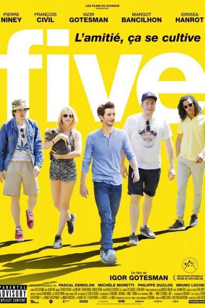 Caratula, cartel, poster o portada de Five