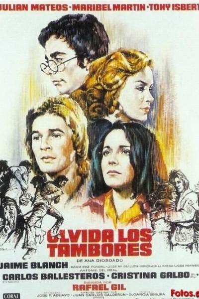Caratula, cartel, poster o portada de Olvida los tambores