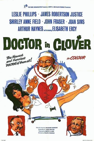 Caratula, cartel, poster o portada de El doctor, la enfermera y el loro
