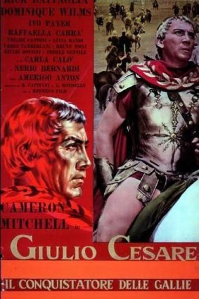 Caratula, cartel, poster o portada de Julio César, \'El Conquistador de las Galias\'