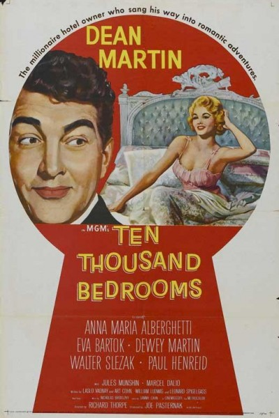 Caratula, cartel, poster o portada de Diez mil dormitorios