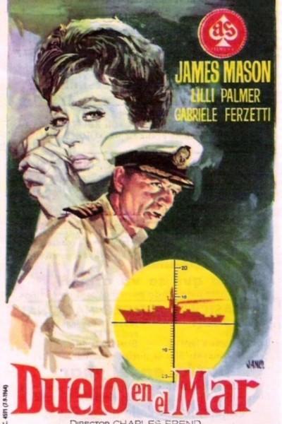 Caratula, cartel, poster o portada de Duelo en el mar