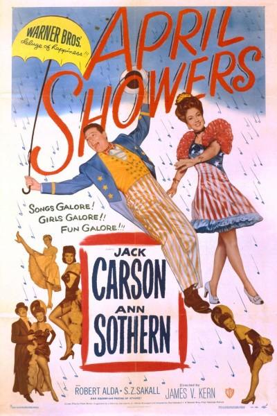 Caratula, cartel, poster o portada de April Showers