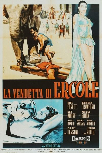 Caratula, cartel, poster o portada de La venganza de Hércules