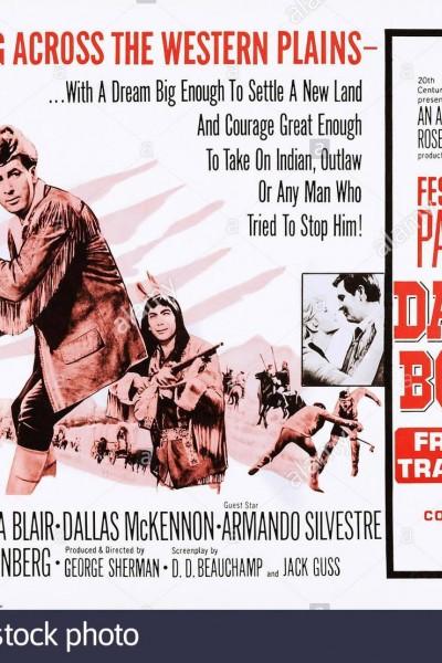 Caratula, cartel, poster o portada de Daniel Boone: Frontier Trail Rider