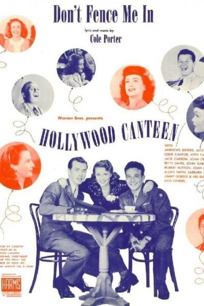 Caratula, cartel, poster o portada de Hollywood Canteen