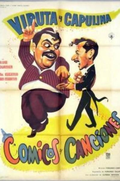 Caratula, cartel, poster o portada de Cómicos y canciones