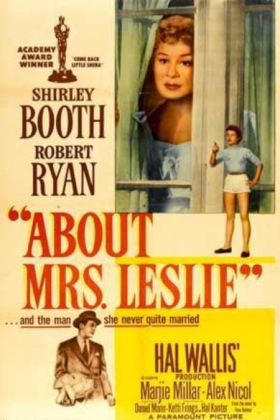 Caratula, cartel, poster o portada de El amor de la señora Leslie