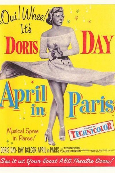 Caratula, cartel, poster o portada de Abril en París
