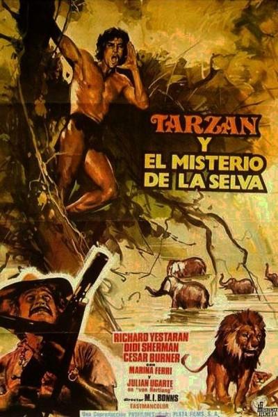 Caratula, cartel, poster o portada de Tarzán y el misterio de la selva