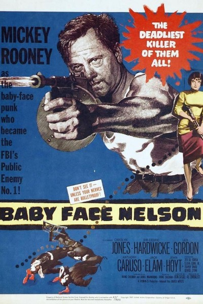 Caratula, cartel, poster o portada de Baby Face Nelson
