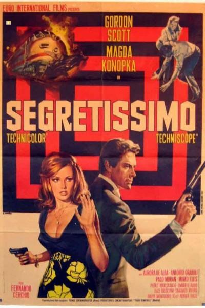 Caratula, cartel, poster o portada de Secretísimo