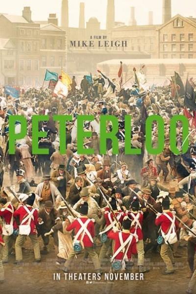 Caratula, cartel, poster o portada de La tragedia de Peterloo