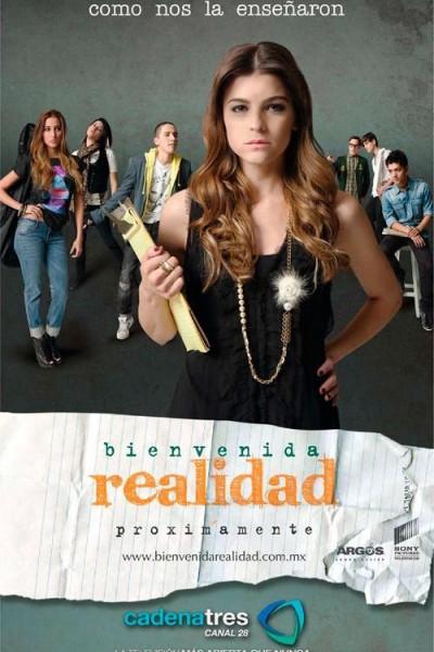 Caratula, cartel, poster o portada de Bienvenida realidad