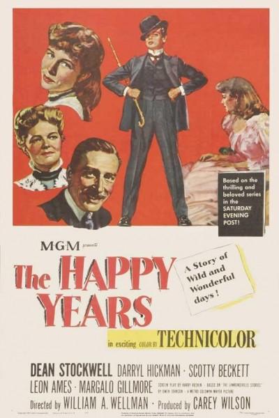 Caratula, cartel, poster o portada de Años felices