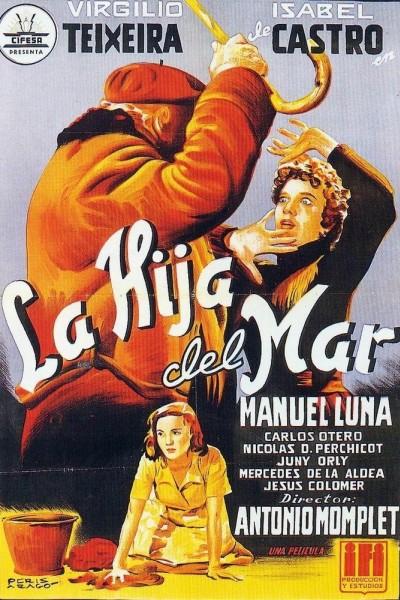 Caratula, cartel, poster o portada de La hija del mar