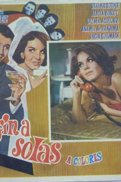 Caratula, cartel, poster o portada de Al fin a solas