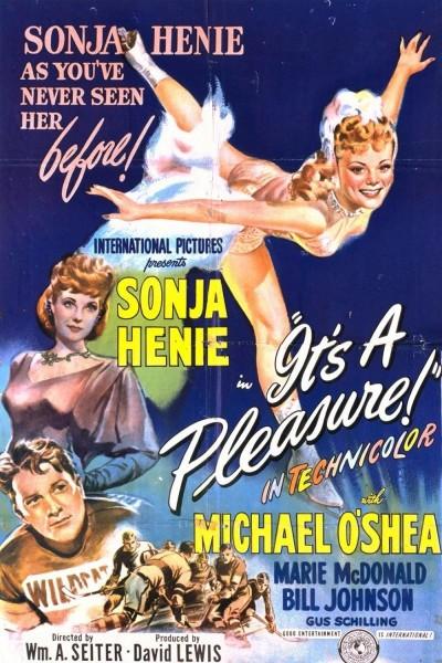 Caratula, cartel, poster o portada de It\'s a Pleasure
