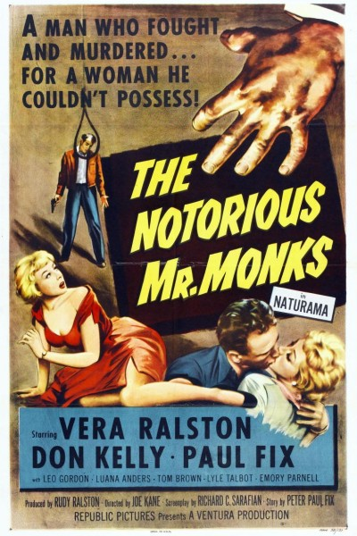 Caratula, cartel, poster o portada de The Notorious Mr. Monks